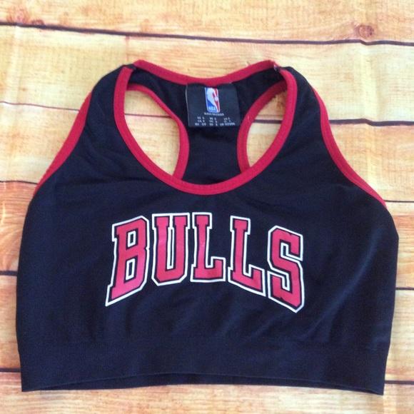 a82ced12363 NBA Chicago Bulls Razorback Sport Bra Sz S  217. M 5b6a223481bbc8beb4d42e58